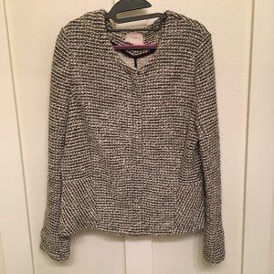 Ann Taylor Loft zip up jacket